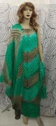 Art Silk Bandhani Suit