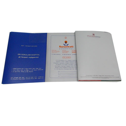 Hospital & Medical Record Files - Doctor Files Manufacturer from Palghar