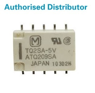 DPDT Surface Mount Non-Latching Relay 2 A 3V dc