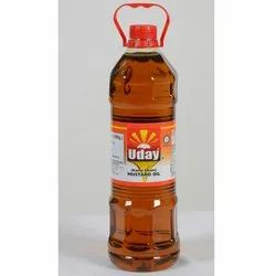 Uday Mustard Oil, Packaging Type: Plastic Bottle