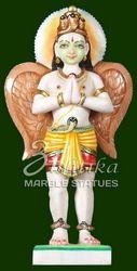 Marble Garur Statue