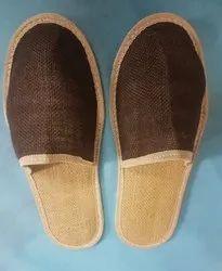 jute slippers dual colour