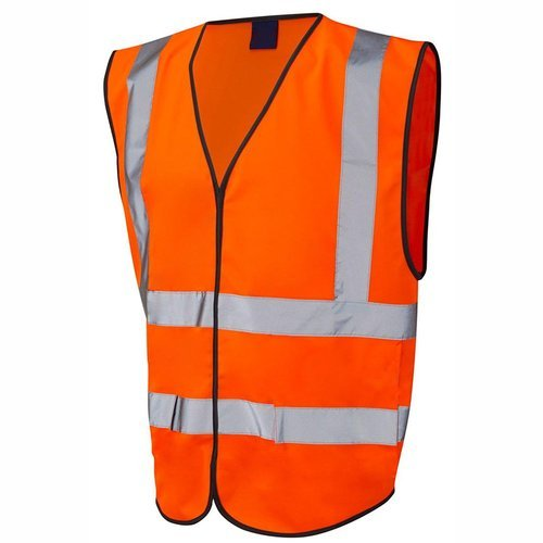 Premium Industrial Polyester Safety Jacket for Construction