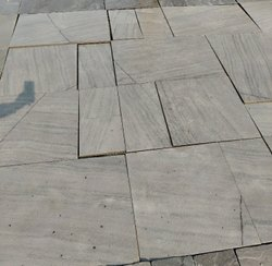 Sagar Black Sandstone Flooring Tiles
