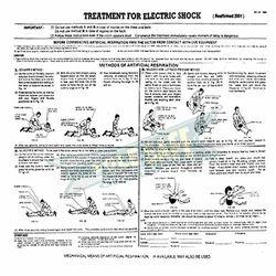 Electric Shock Treatment Chart