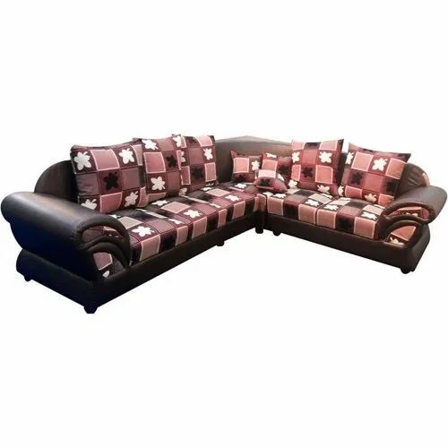 Elahi L Shape Designer Sofa, Back Style: Cushion back