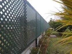 Lattice Fence