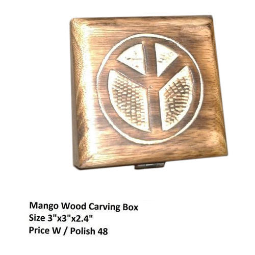 Wood Square En Box Rs 48 Piece Diamond Wood Handicrafts Id
