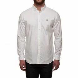 Royal Enfield White classic oxford shirt