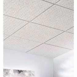 White Acoustical Ceiling Tiles