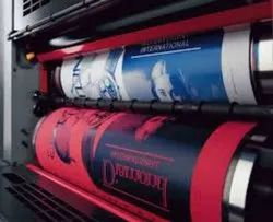 Offset Brochure Printing Services, Onsite