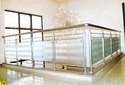 Nascent Toughened Glass Designer Stainless Steel Glass Railing