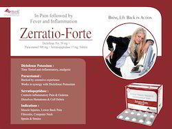 Diclofenac Pot.Paracetamol Serratiopeptidase  Tab
