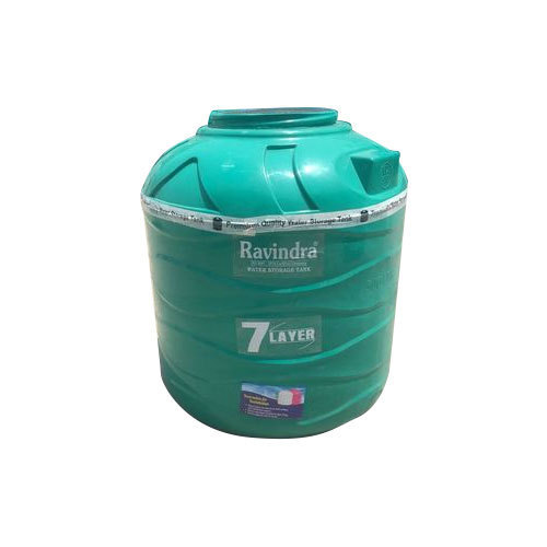 7 Layer Green Water Tank Capacity 1000 L Rs 6 6 Litre Gupta Polymers Id 19196158755