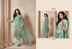 Isika By Omtex Lawn Cotton Summer Wear Designer Salwar Kameez