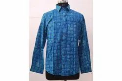 Hand Block Printed Cotton Shirt Printed Shirt