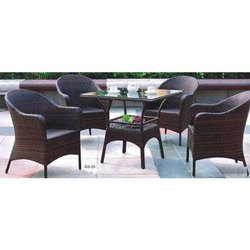 Brown 4 Rehau cane wicker outdoor and Indore furniture