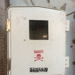 Square Electrical Meter Box