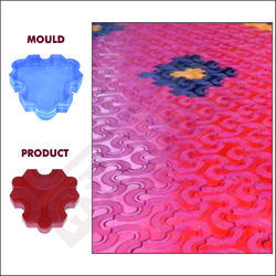 New Cosmic Paver Block Moulds 80 Mm 621b - Sand