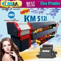 Digital Flex Konica Minolta 512i Solvent Printer