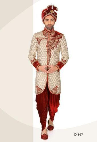 Indo Western Indian Ethnic Wedding Sherwani Indian Groom V010