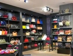 Interior Desgning Of Hangbags Stores