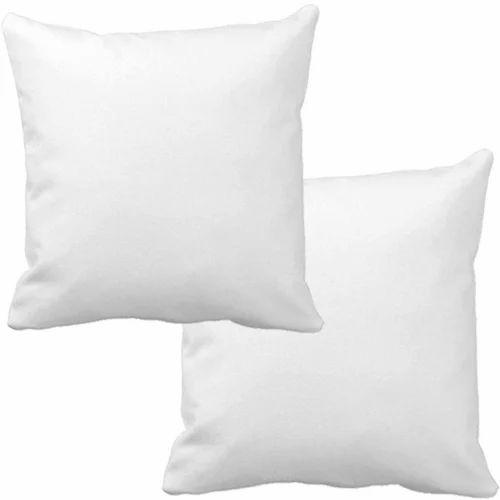 White Fibre Filler Sofa Cushion Gsm 450