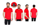 Male Half Sleeve Cotton T Shirts For Office Gifting