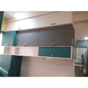 Wooden Upper Kitchen Cabinet, Thickness: 10-15 Mm