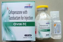 Cefoperazone 1000 mg & Tazobactam 125 mg Injection