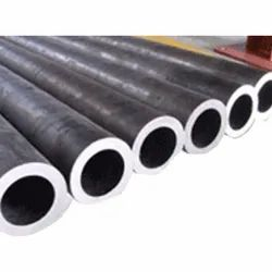 Ms Galvanized Round EN9 Seamless Alloy Steel Pipe, For Construction, Thickness: 10mm