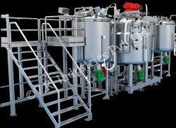 Colour Paint Mixing Plant