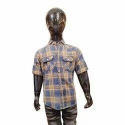 Bulleter Cotton Kids Check Shirt