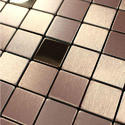 Stainless Steel 3D Effect Mosaic Designer Sheets
