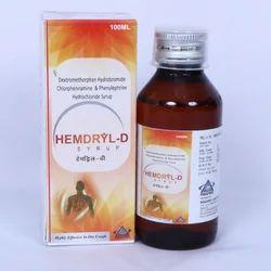 Dextromethorphan Hydrobromide Chlorpheniramine and Phenylephrine Hydrochloride Syrup