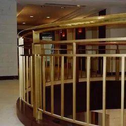 Stairs Bar Brass Railing