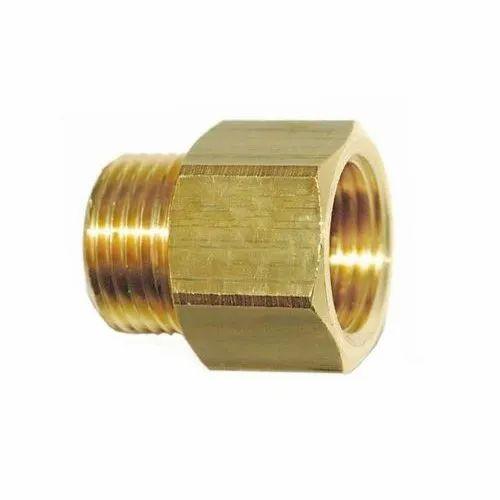 Brass Adapter Male X Female, Size: 1/8