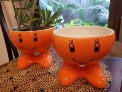 Smiley Ceramic Planter