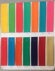 80 GSM Plain Rangoli Polyester Fabric