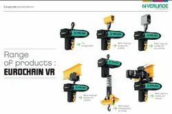 Electric Chain Hoists - Verlinde Lifting Equipments