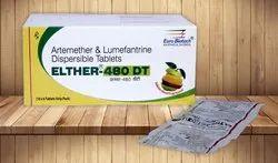 Artemether 80 mg & Lumifantrine 480 mg