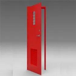 Square B Louver Door