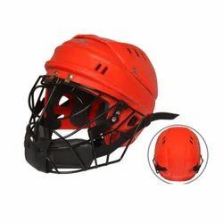 Mayor Red & Black Hockey Goal Keeper Helmet