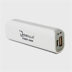 Mobilla 2600mAh Mobile Power Bank, Battery Type: Li-ion