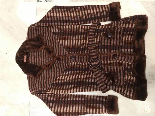 b72ae01f56c5 Regular Fit Woolen Shivani Coat Long
