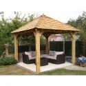 Dome Thermo Pine Wooden Pargola