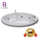 Calista Jacuzzi Acrylic Massage Bathtub