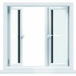 White Casement UPVC Window