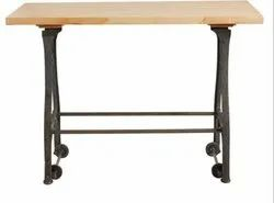 Cast Iron Moveable Industrial Table DIF-1419