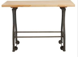 DIF-1419 Cast Iron Moveable Industrial Table